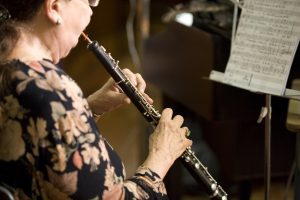 An Oboe Player